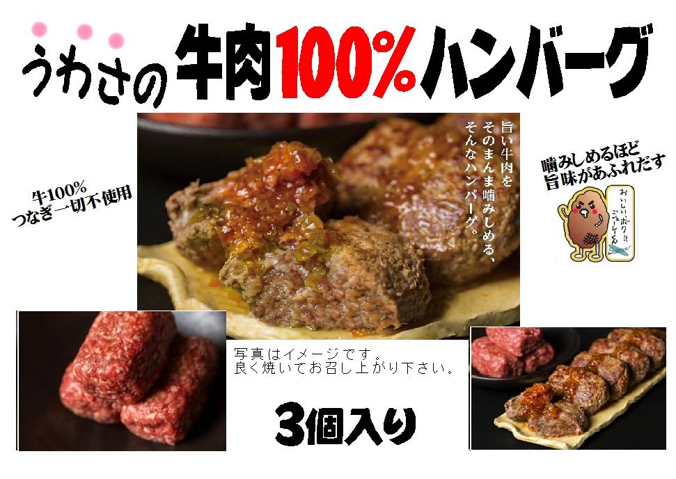 牛肉100%ハンバーグ(冷凍)